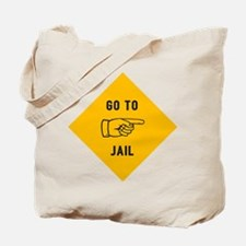 Go To Jail Tote Bag