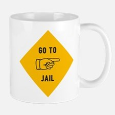 Go To Jail Mug