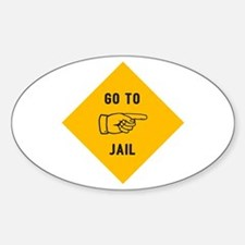 Go To Jail Decal