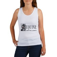 Cute Equine advocates Women's Tank Top