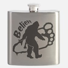 Bigfoot Believe Flask
