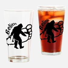 Bigfoot Believe Drinking Glass