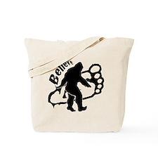 Bigfoot Believe Tote Bag