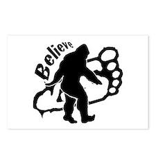 Bigfoot Believe Postcards (Package of 8)