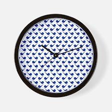 Cute Hip Pipe Tile Pattern Wall Clock