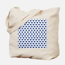 Cute Hip Pipe Tile Pattern Tote Bag