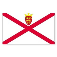 Cute Jersey flag Decal