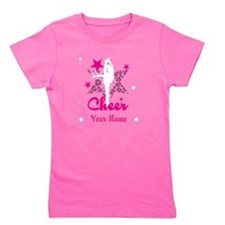 Pink Allstar Cheerleader Girl's Tee