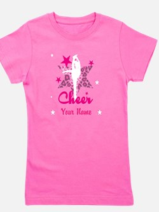 Pink Allstar Cheerleader Girl's Tee