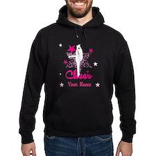 Pink Allstar Cheerleader Hoodie