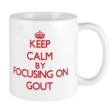 Keep Calm by focusing on Gout Mugs