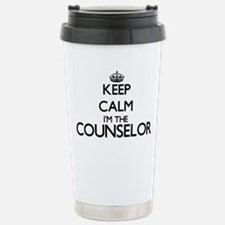 Keep calm I'm the Couns Stainless Steel Travel Mug