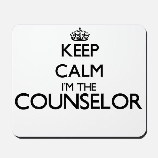 Keep calm I'm the Counselor Mousepad