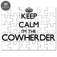 Keep calm I'm the Cowherder Puzzle
