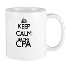 Keep calm I'm the Cpa Mugs