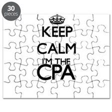 Keep calm I'm the Cpa Puzzle