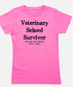 Cute School medicine Girl's Tee