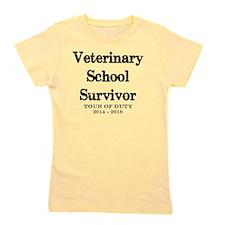 Veterinary School Survivor 2018 Girl's Tee