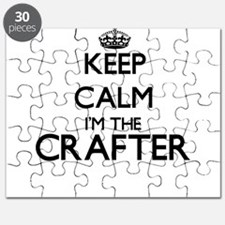 Keep calm I'm the Crafter Puzzle