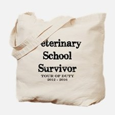 Veterinary School Survivor Tote Bag