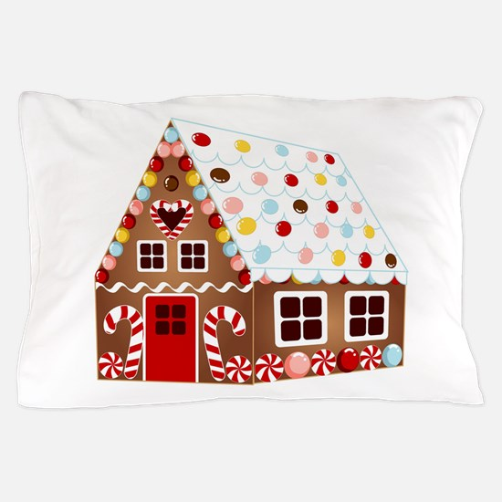 Gingerbread HOUSE Pillow Case