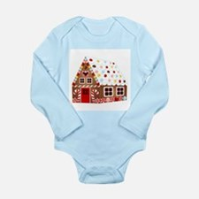 Gingerbread HOUSE Body Suit