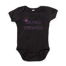 Oilfield Princecess Baby Bodysuit