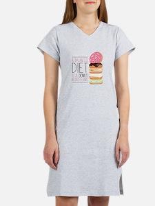 Balanced Diet Women's Nightshirt
