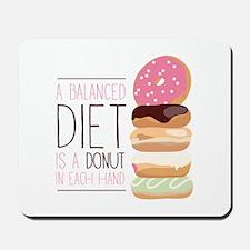 Balanced Diet Mousepad