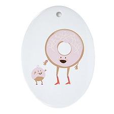 Doughnut & Hole Ornament (Oval)
