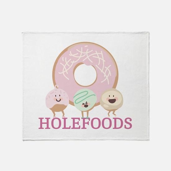 Holefoods Throw Blanket