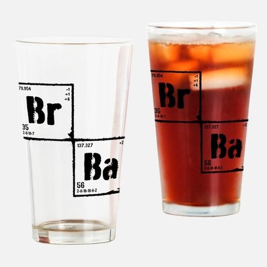 Breaking Bad Elements Drinking Glass