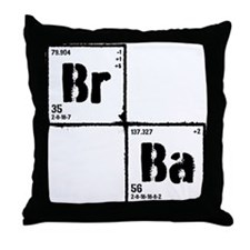 Breaking Bad Elements Throw Pillow