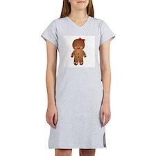 Gingerbread GIRL Women's Nightshirt