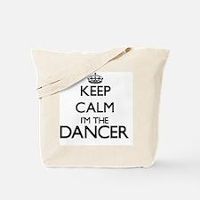 Keep calm I'm the Dancer Tote Bag