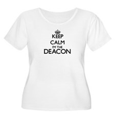 Keep calm I'm the Deacon Plus Size T-Shirt