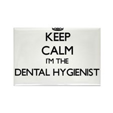 Keep calm I'm the Dental Hygienist Magnets