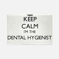 Keep calm I'm the Dental Hygienist Magnets