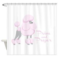 Prim & Proper Shower Curtain