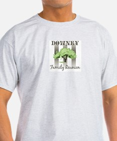 DOWNEY family reunion (tree) T-Shirt