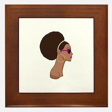 Afro Style Framed Tile