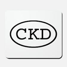 CKD Oval Mousepad