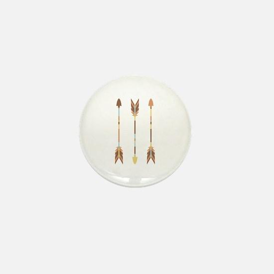 Indian Arrows Mini Button