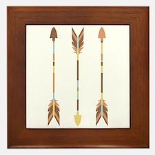 Indian Arrows Framed Tile