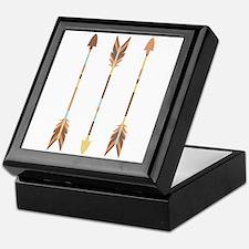 Indian Arrows Keepsake Box