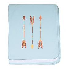 Indian Arrows baby blanket