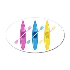 Kayaks Wall Decal