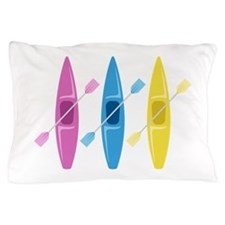 Kayaks Pillow Case