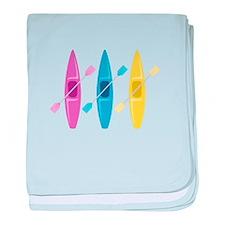 Kayaks baby blanket