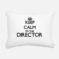 Keep calm I'm the Direct Rectangular Canvas Pillow